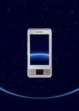 Tocco del telefono mobile Fotografia Stock