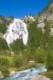 Toce瀑布,山麓意大利 图库摄影