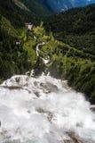 Toce понижается в северную Италию Стоковые Изображения RF