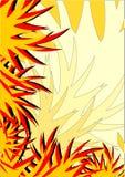 Tocha da flama ilustração do vetor