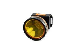 Tocha da lanterna elétrica Fotografia de Stock