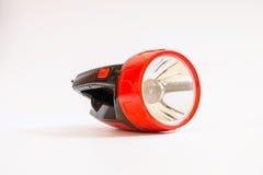 tocha da lanterna elétrica do bolso Fotos de Stock