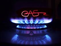 Tocha do gás e o wire-2 heated Foto de Stock Royalty Free