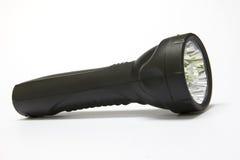 Tocha elétrica do diodo emissor de luz isolada Imagens de Stock Royalty Free