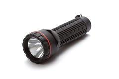 Tocha - lanterna elétrica preta Imagens de Stock