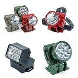 Tochas elétricas do diodo emissor de luz Imagens de Stock Royalty Free