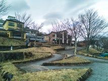 Tochigi, Giappone 15 aprile 2018: Immagazzini individuato intorno alla La di Chuzenji Fotografie Stock Libere da Diritti