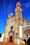 Tochimilco klasztor Ja obraz royalty free