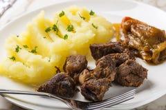 Tochitura Moldoveneasca罗马尼亚传统食物 库存图片