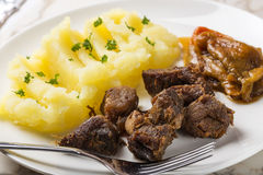 Tochitura Moldoveneasca Romanian traditional food Stock Images