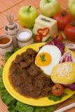 Tochitura rumeno tradizionale Immagine Stock