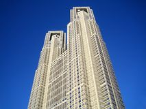 Tocho, Tokyo-Metropolitanregierungsstelle Stockfotografie