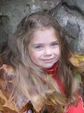 Tochter des Waldes stockfotos