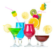 Tock image of alcohol cocktails Royalty Free Stock Image