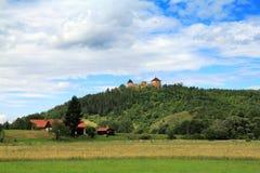 Tocnik castle Stock Image