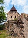 Tocnik Castle in Central Bohemia, Czech Republic Stock Photo