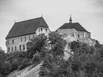 Tocnik Castle in Central Bohemia, Czech Republic Royalty Free Stock Photo