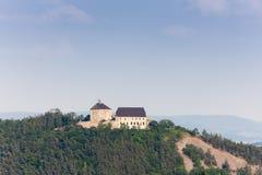 Tocnik castle. In Czech Republic Stock Photography