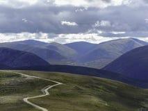 Toczne góry Fotografia Royalty Free