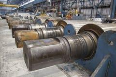 Toczne tworzy rolka metalu pracy Zdjęcie Royalty Free