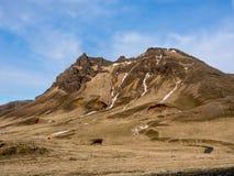 Toczni wzgórza Iceland Zdjęcie Royalty Free
