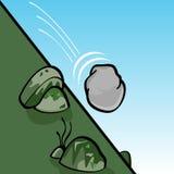 toczny kamień ilustracja wektor