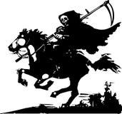 Tod auf einem Pferd Lizenzfreie Stockbilder