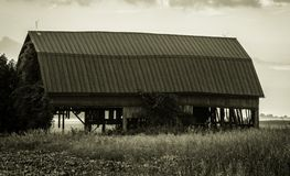 Tod des Familien-Bauernhofes Stockfotos