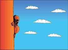 Tod hinter der Ecke Lizenzfreies Stockfoto