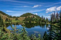 Tod Lake under a beautiful sky Royalty Free Stock Image