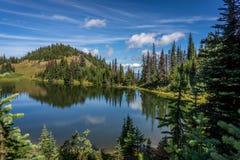 Tod Lake under a beautiful sky Royalty Free Stock Photos