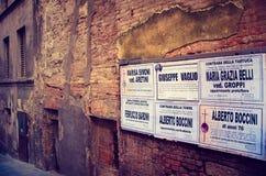 Tod in Südeuropa - Italien lizenzfreie stockfotos