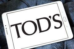 Tod`s fashion brand logo stock photos