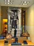 Tod's fashion in Florence, Italy Royalty Free Stock Images