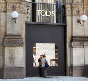 Tod's store Stock Photography