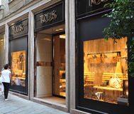 Tod's store stock images
