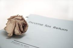 Tod und Steuern Lizenzfreies Stockbild