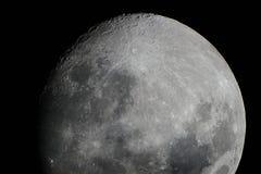 Toda a beleza da lua Imagem de Stock Royalty Free