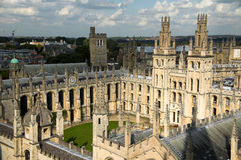Toda a faculdade Oxford de Soulâs Imagem de Stock Royalty Free