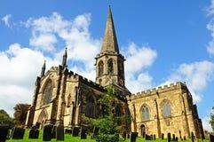 Toda a igreja de Saint, Bakewell Fotografia de Stock Royalty Free