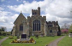 Toda a igreja de Saint em Biddenden Kent fotografia de stock