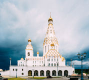 Toda a igreja de Saint em Minsk, Republic of Belarus imagens de stock royalty free