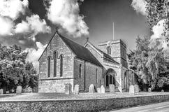 Toda a igreja de Saint em Ruskington Lincolnshire foto de stock