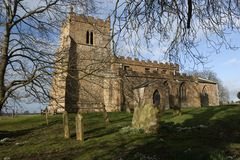 Toda a igreja de Saint, (a igreja dos Ramblers), Walesby, Imagem de Stock Royalty Free