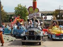 Toda la estrella expresa en Disneylandya Fotos de archivo libres de regalías