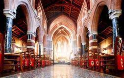 Toda la iglesia de los santos Imagen de archivo libre de regalías