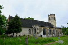 Toda la iglesia de los santos, Buckenham viejo, Norfolk, Inglaterra fotos de archivo libres de regalías