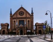 Toda la iglesia de los santos en Kornik, Polonia Fotos de archivo