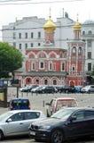 Toda la iglesia de los santos en Kulishki Foto de archivo libre de regalías