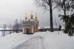 Toda la iglesia de los santos en monasterio ortodoxo Fotografía de archivo